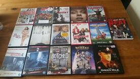 Job Lot 16 of DVDS