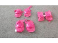 Pink knee/elbow pads