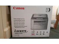 Bargain New Canon Fax Machine iSENSYS fax L150
