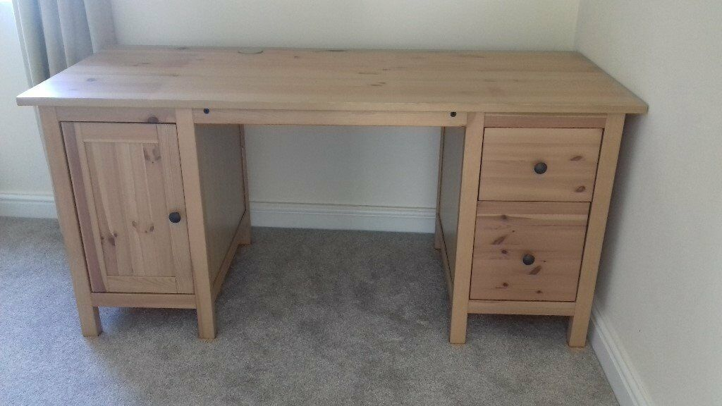 New Ikea Hemnes Light Brown Desk In Bradford West Yorkshire Gumtree