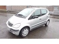 2003 Mercedes A140 Classic 5 Door 1.4 Petrol Long MOT FSH 74000 Miles Only...