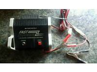 Radio controlled car battery fast charger 7.2v