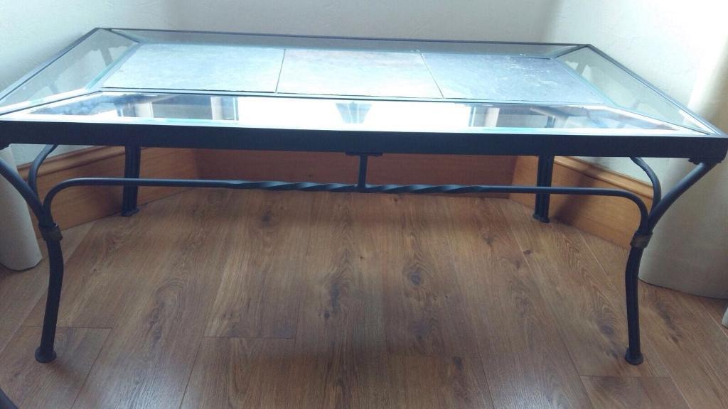 Black Glass Side Table Gumtree