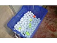 Approx 300 golf balls