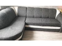 Corner sofa with function of bed for sale.