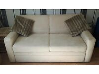 Quality micro-suede Sofa bed