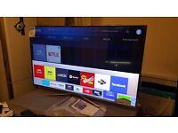 """SAMSUNG 55"""" Smart 4K UHD HDR LED TV-UE55KU6400,built in Wifi,BLUETOOTH,Freeview,Excellent condition"""