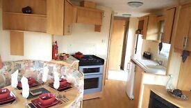 Cheap Double Glazed Family Static Caravan For Sale, Seaside Location, Lancashire