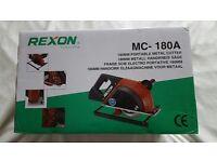 CIRCULAR SAW REXON MC-180A 110 VOLT METAL CUTTING SAW