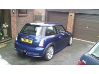 2003 Mini Cooper S Supercharged, Uprated