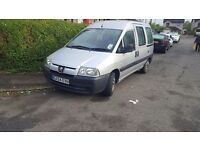 2004 Peugeot expert wheelchair accessible vehicle