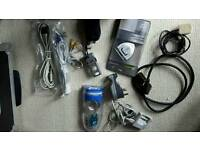 Job Lot Electronics including Wires, Battery Chargers.