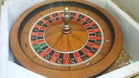 Cammegh Professinal Roulette Wheel. Full size