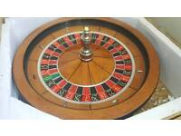 Cammegh Professinal Roulette Wheel. Full size