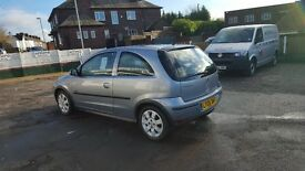 VAUXHALL CORSA TWINPORT 1.2 PETROL ONE FORMER OWNER 12 MONTHS MOT NATIOWIDE WARRANTY IS AVAILABLE