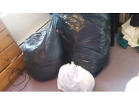 Bags of womans clothes, sizes 14, 16