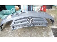 MERCEDES VAN FRONT BUMPER POSSIBLY A VITO BUT CHECK TO SEE WHAT YOU THINK BEFORE BUYING