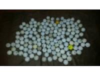 approximately 150 golf balls
