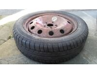 185 / 60 R 17 Spare wheel CONTINENTAL tyre