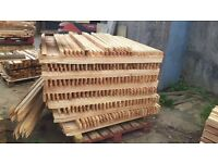 Cedar 35m x35mm x 4ft pointed stakes