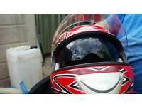 Viper helmet and gloves + jacket