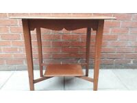 Old Wooden Hall Table