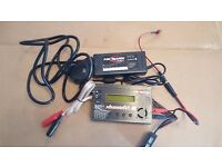 RC Lipo Battery Charger and bag - rarely used
