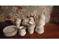Full 6 settings teaset. Perfect condition £40