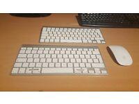 Magic Wireless Keyboard (Brand New) & Magic Mouse (Second Hand) - Bluetooth Genuine Apple