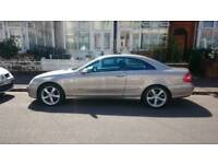 Mercedes CLK320 AVANTGARDE, auto excellent condition, plate worth £700!!!!!! QUICK SALE NEEDED.