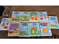 Pepper pig DVDs