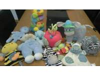 Selection of Newborn Baby Toys