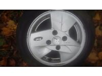 FORD Ka alloy wheels