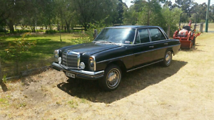 1969 Mercedes Benz 220d 4 speed manual Ascot Belmont Area Preview