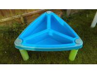 Sand / water table triangular