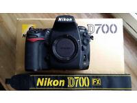 Nikon D700 Digital SLR Camera - Low Shutter Count of 7795