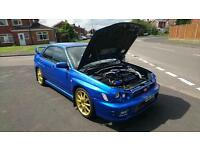 310bhp subaru impreza wrx/sti showroom condition