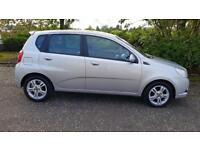 CHEVROLET AVEO 1.4 LT 5dr A Nice Looking Clean Car Fully Warranted + Serviced (silver) 2009