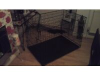 Xlarge dog cage in excellent condition