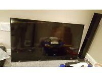 """Samsung 65"""" 4K led tv SMASHED SCREEN"""