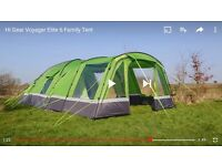Tent Hi Gear Voyager Elite 6 with porch, footprint and accessories used once