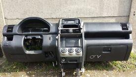 Left hand drive dashboard Honda CR-V -2005