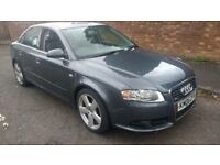 audi a4 tdi turbo diesel s line 2006 06 plate rs a3