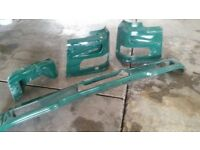 DAF XF 95 parts, bumper, footboard, headlight casings, NEW