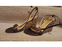 New ZARA Sandals Size 37 (4 UK)
