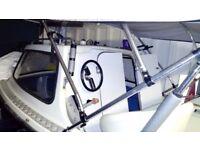14ft cabin boat fishing bargain