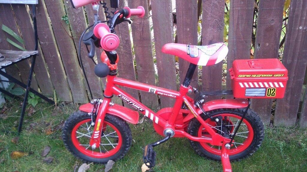 Apollo Firechief 12 inch kids bike
