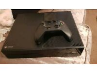 Xbox one console and 1 official wireless controller