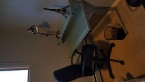 Beautiful desk with brand new chair!