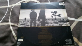 U2 the Joshua tree vintage vinyl record LP